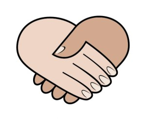 Hand drauf